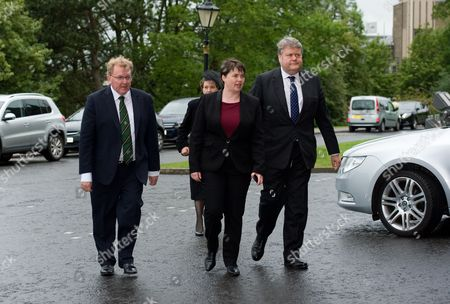 David Mundell, Ruth Davidson and Lord Strathclyde -Thomas Galbraith