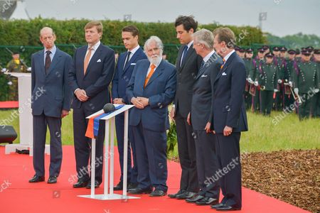 Duke of Kent, King Willem-Alexander, Arthur Wellesley Hunter Duke of Wellington, Prince Nikolaus Furst Blucher von Wahlstatt, Prince Jean-Christophe Napoleon Bonaparte, King Philippe, Grand Duke Henri of Luxembourg