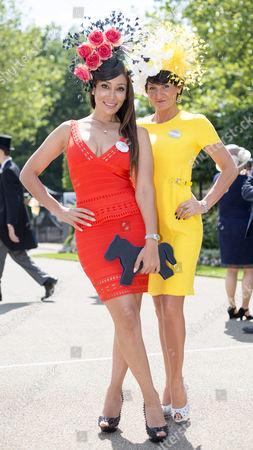 Miss Sofia Hayat and Miss Ilda Di Vico