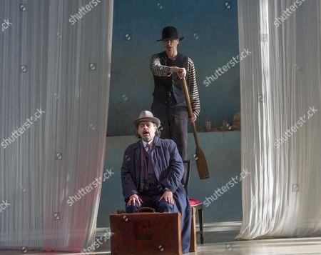 William Dazeley as Old Gondolier, Paul Nilon as Aschenbach