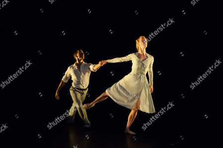 Give My Love to the Sunrise, choreographed by Morgann Runacre-Temple. The dancers are: Tiffany Hedman, Daniel Kraus.
