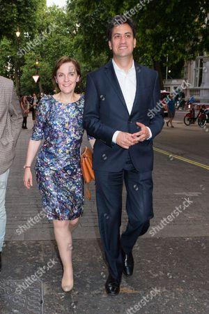 Stock Photo of Ed Miliband and Justine Thornton