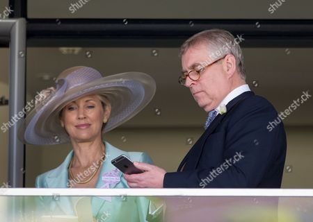 Stock Picture of Prince Andrew and Catrina Skepper