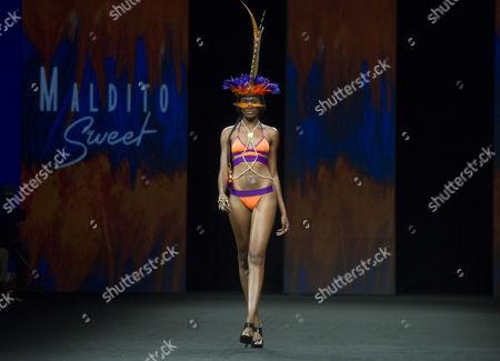Editorial picture of Swimwear Fashion Week, Las Palmas de Gran Canaria, Canary Islands, Spain - 19 Jun 2015