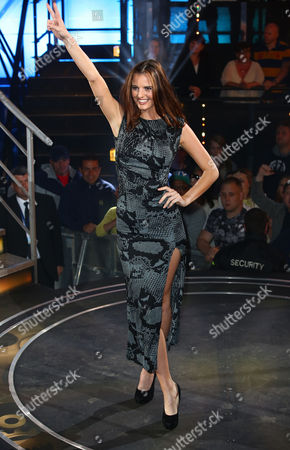 Editorial image of 'Big Brother' TV show eviction, Elstree Studios, Hertfordshire, Britain - 19 Jun 2015
