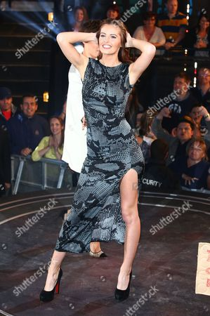 Editorial photo of 'Big Brother' TV show eviction, Elstree Studios, Hertfordshire, Britain - 19 Jun 2015