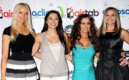 Stacy Fuson, Pilar Lastra, Jennifer Walcott Archuleta, Kara Monaco