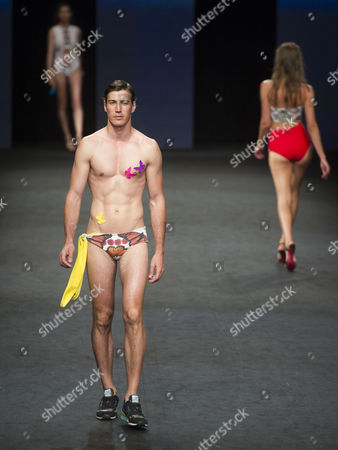 Editorial image of Hiprertrofico show, Swimwear Fashion Week, Las Palmas de Gran Canaria, Canary Islands, Spain - 20 Jun 2015