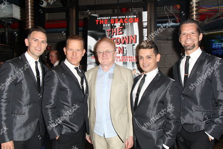 Stock Image of Daniel Reichard, Christian Hoff, Peter Asher, Michael Longoria, J Robert Spencer