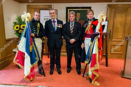 Editorial image of 200 year anniversary of Battle of Waterloo re-enactment, London, Britain - 21 Jun 2015