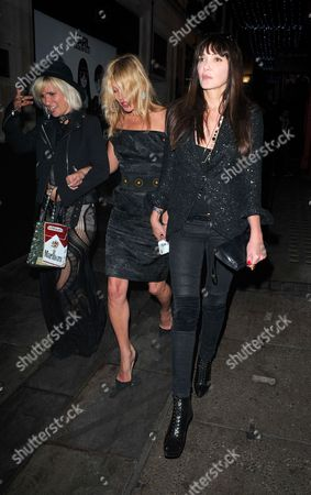 Kate Moss and Annabelle Neilson