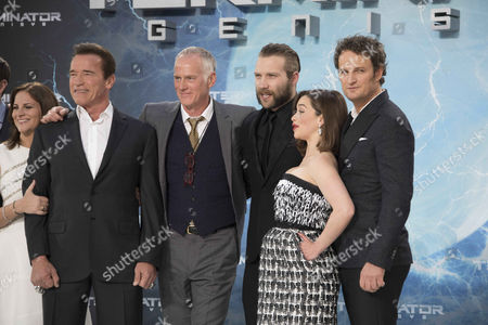 Dana Goldberg (Producer), Arnold Schwarzenegger, Alan Taylor (Director), Jai Courtney, Emilia Clarke and   Jason Clarke