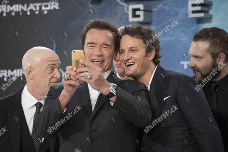 Editorial photo of 'Terminator Genisys' film premiere, Berlin, Germany - 21 Jun 2015