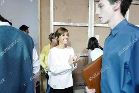 Consuelo Castiglioni backstage