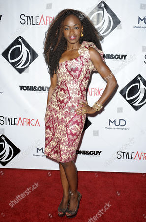 Editorial picture of Style Africa Gala, Los Angeles, America - 20 Jun 2015