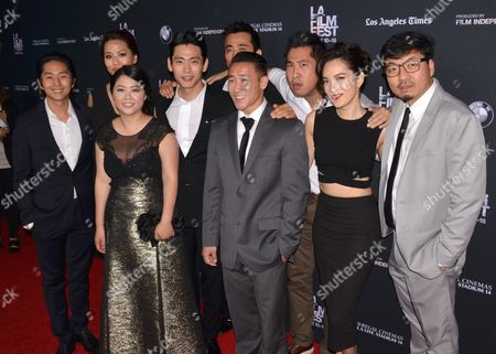Stock Picture of Teo Yoo, Rosalina Leigh, In-Pyo Cha, Esteban Ahn, Jessika Van, Benson Lee, Andrea Chung and Albert Kong