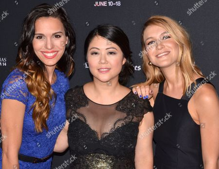 Christy Carlson Romano, Andrea Chung and Nathalia Ramos