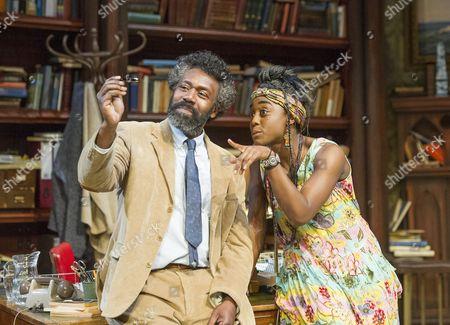 Lenny Henry as Frank, Lashana Lynch as Rita