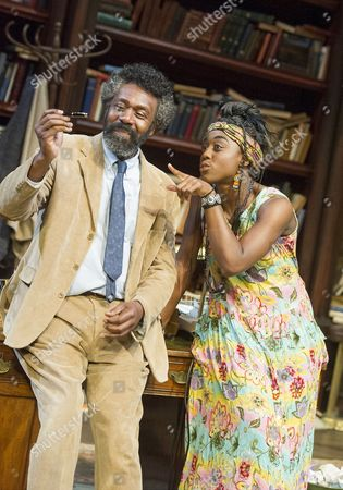 Editorial picture of 'Educating Rita' Play by Willy Russell performed in the Minerva Theatre, Chichester Festival Theatre, UK, 22 Jun 2015