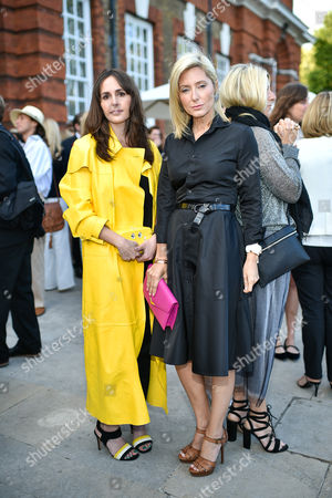 Tania Fares and Crown Princess Marie-Chantal of Greece