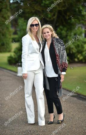 Stock Image of Jenny Halpern and Marie Guerlain
