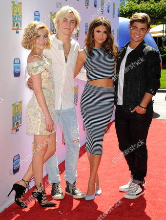 Grace Phipps, Ross Lynch, Maia Mitchell and Garrett Clayton