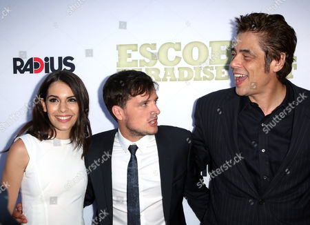 Claudia Traisac, Josh Hutcherson and Benicio Del Toro