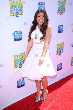 Editorial photo of 'Teen Beach 2' film premiere, Los Angeles, America - 22 Jun 2015