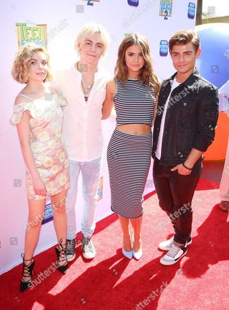 Editorial picture of 'Teen Beach 2' film premiere, Los Angeles, America - 22 Jun 2015