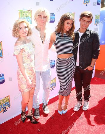 Stock Picture of Grace Phipps, Ross Lynch, Maia Mitchell and Garrett Clayton