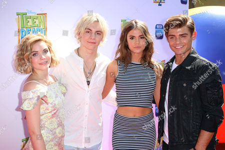 Stock Image of Grace Phipps, Ross Lynch, Maia Mitchell and Garrett Clayton