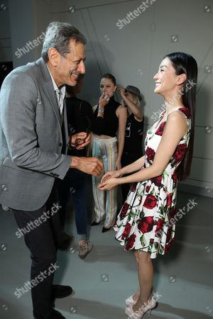 Jeff Goldblum, Grace Huang