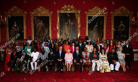 Editorial picture of The Queen's Young Leaders Awards reception, Buckingham Palace, London, Britain - 22 Jun 2015