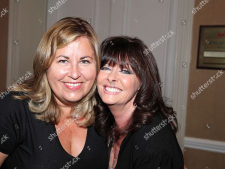 Liza Tarbuck and Vicki Michelle MBE