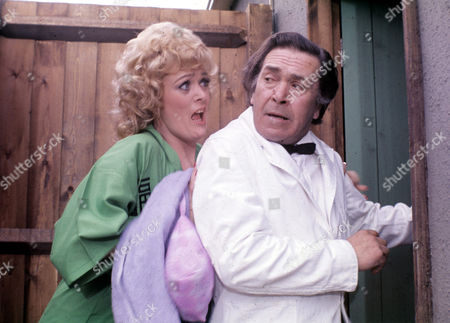 Sherrie Hewson and Peter Butterworth