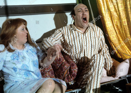 Patsy Rowlands and Bernard Bresslaw
