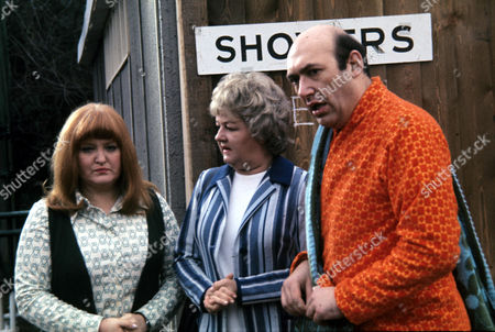 Patsy Rowlands, Joan Sims and Bernard Bresslaw