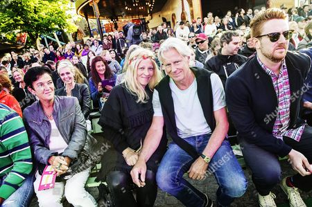Bjorn Borg and wife Patricia Ostfeldt