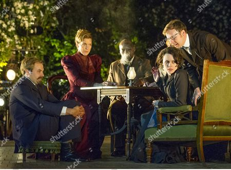Editorial image of 'The Seagull' Play performed at the Open Air Theatre Regent's Park, London, Britain - 23 Jun 2015