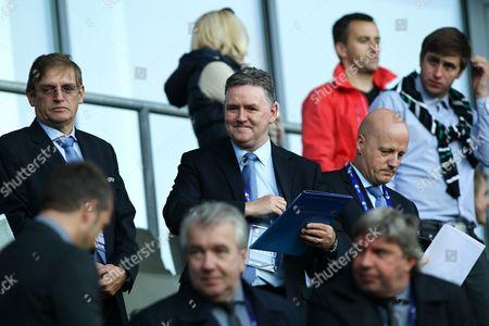 UEFA referee officer Hugh Dallas