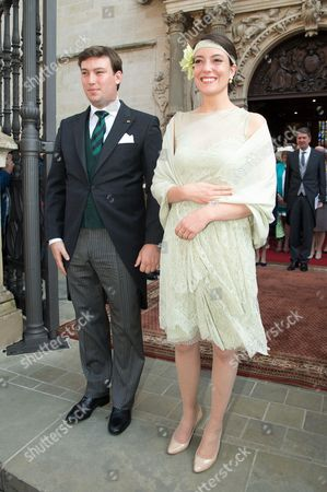 Princess Alexandra of Luxembourg and Prince Sebastien of Luxembourg