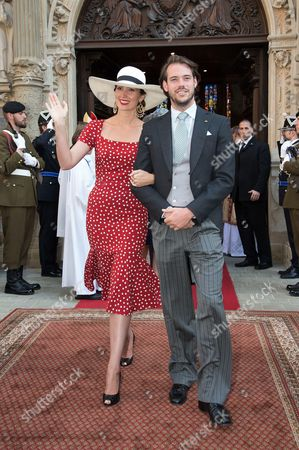 Prince Felix of Luxembourg and Princess Claire of Luxembourg