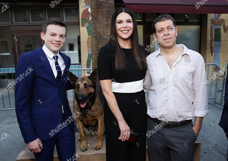 Josh Wiggins, Jagger the dog, Lauren Graham, Boaz Yakin