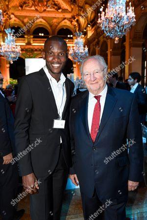 Lassana Bathily and Roger Cukierman