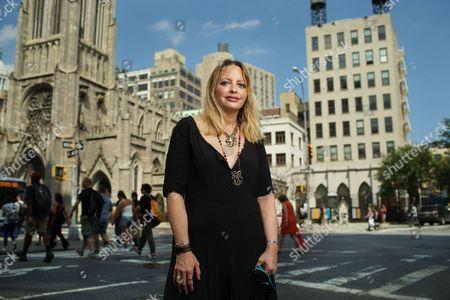 Editorial picture of Elizabeth Wurtzel, New York, America - 10 Jun 2015