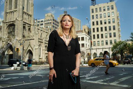 Editorial photo of Elizabeth Wurtzel, New York, America - 10 Jun 2015