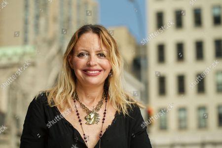Stock Photo of Elizabeth Wurtzel