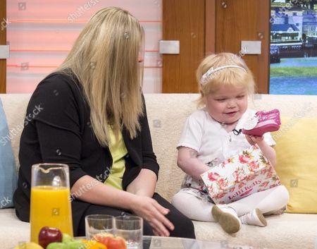 Karen Hughes and daughter Ella Chadwick