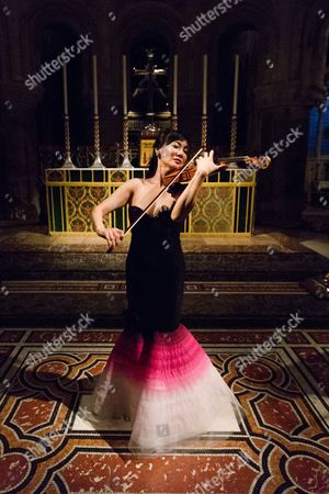 Editorial picture of Siow Lee-Chin in concert, St Bartholomew the Great Church, London, Britain - 23 Jun 2015