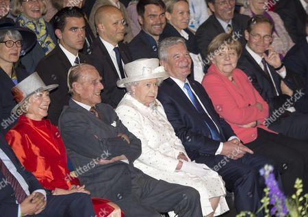 Editorial photo of Queen Elizabeth II State Visit to Germany - 24 Jun 2015